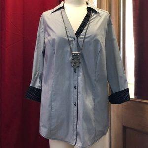 EUC Lane Bryant 3/4 sleeve blouse - Sz. 14.